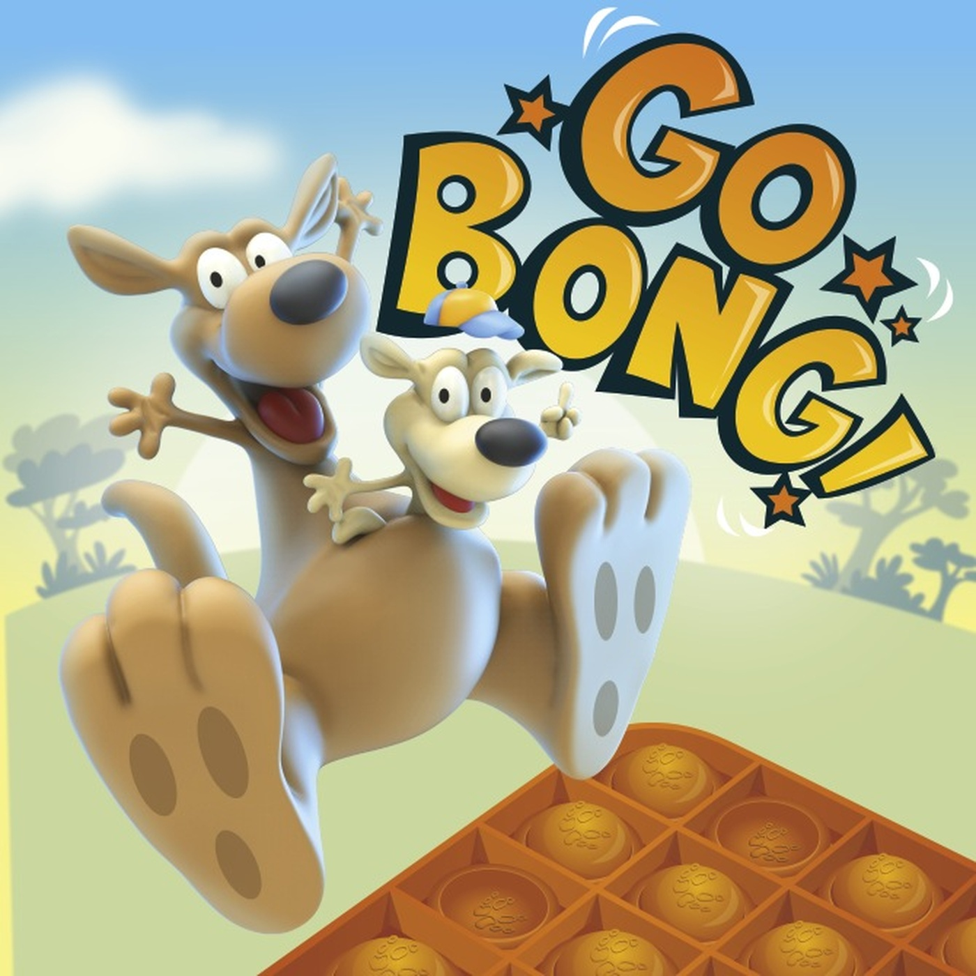 Francois Boutet - 3D illustration- Go Bong boardgame