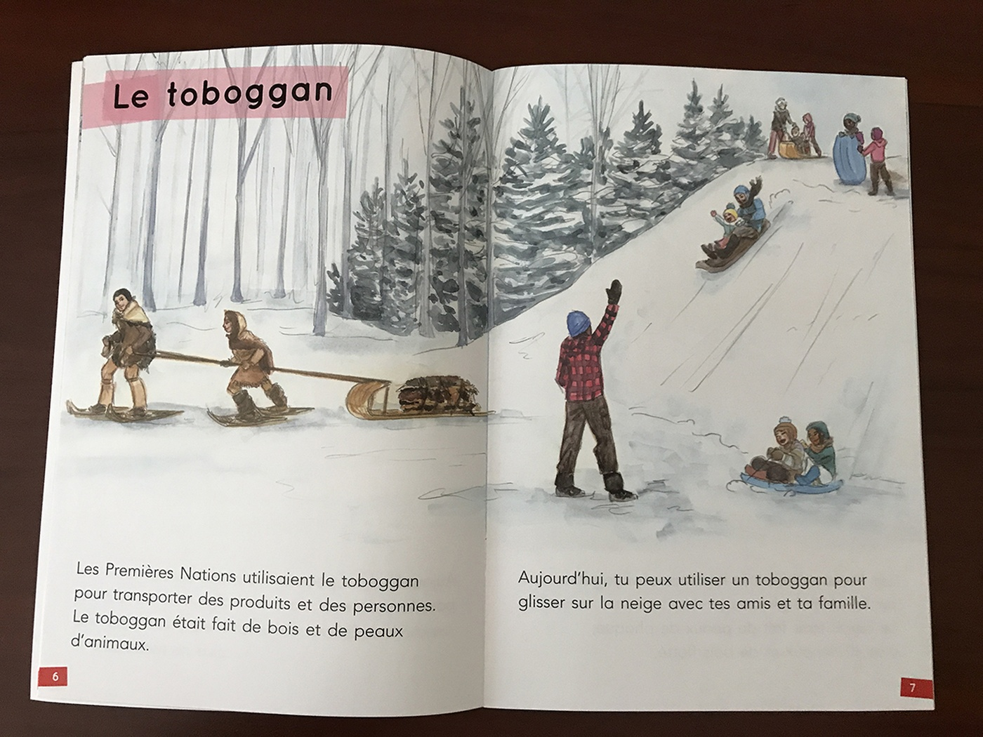 Brandy Woods - Le toboggan | The toboggan