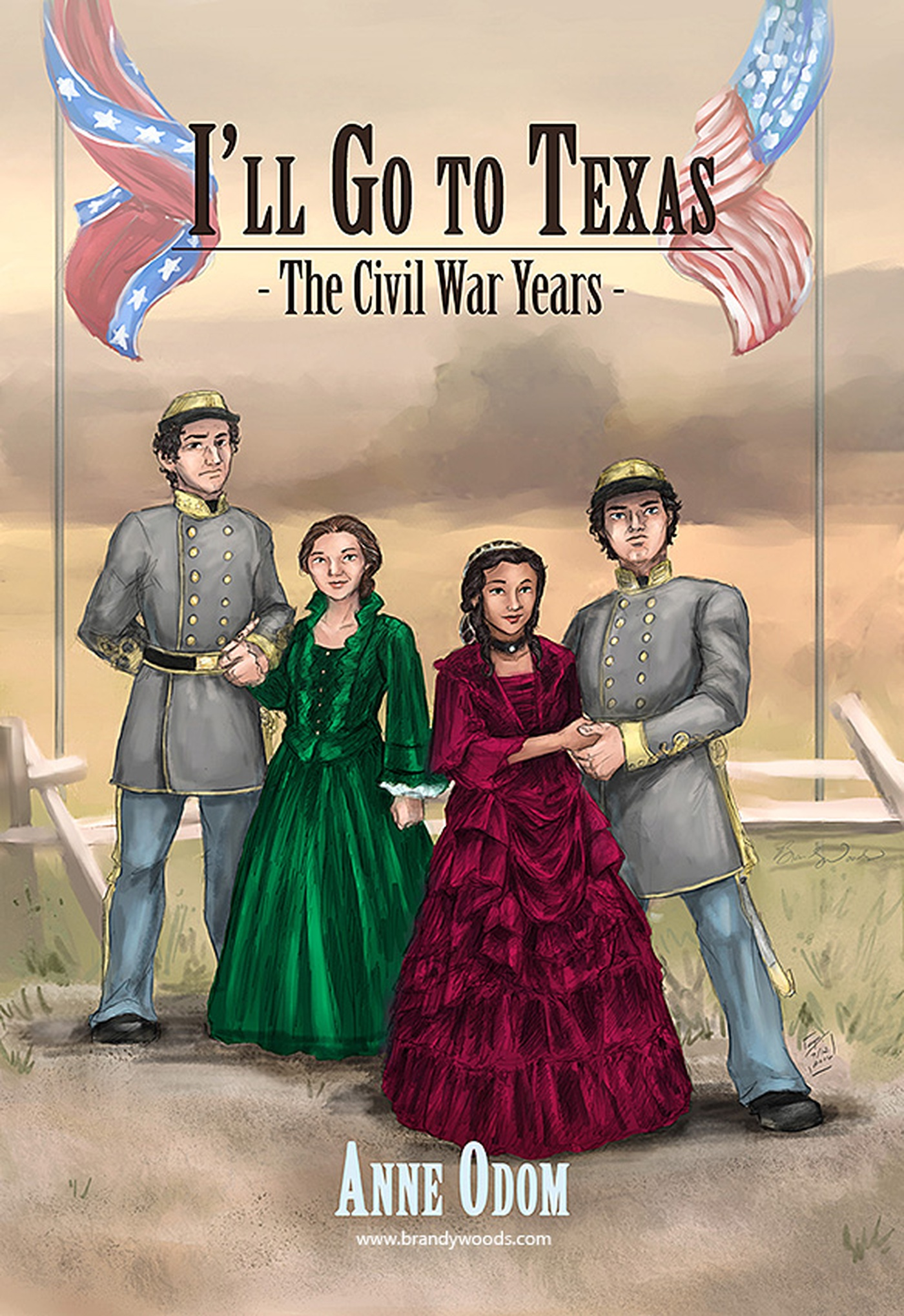 Brandy Woods - Civil War Years cover