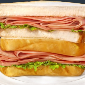 Final sandwich jambon Metro low