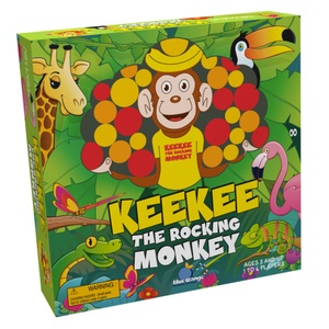 jeu de société KeeKee the rocking monkey