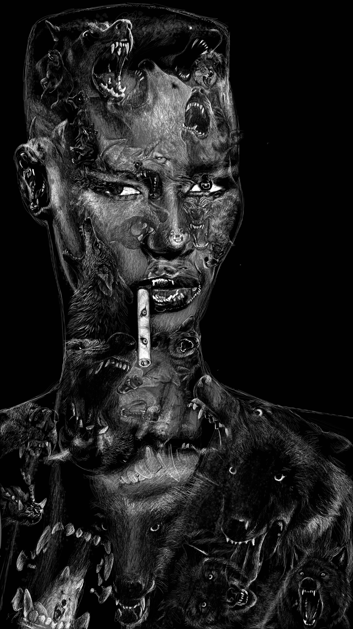 Jocelyne Bouchard - Grace Jones