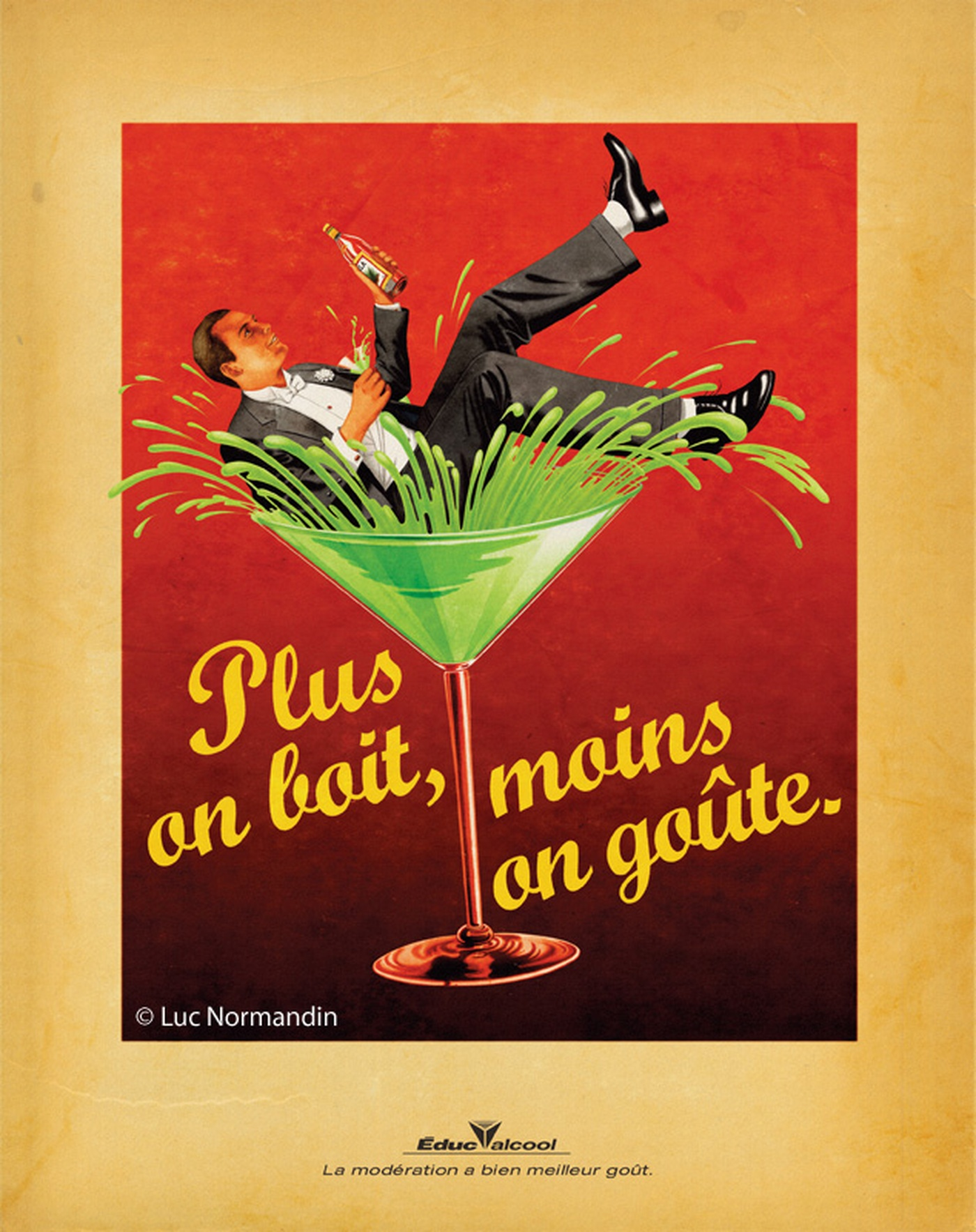 Luc Normandin - Educalcool-Martini