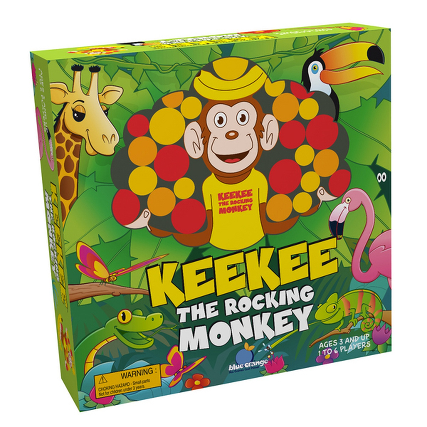 Marc Chouinard - jeu de société KeeKee the rocking monkey