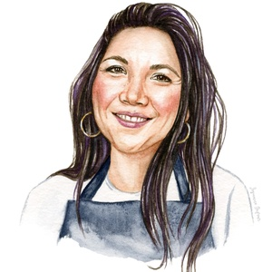 Portrait de Lauren Toyota (Hot for Food)