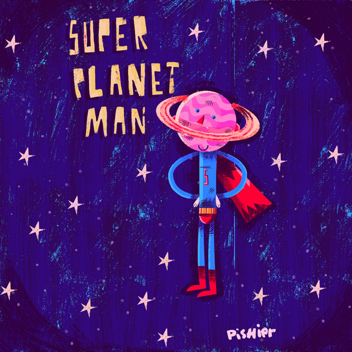 PisHier - super planet man