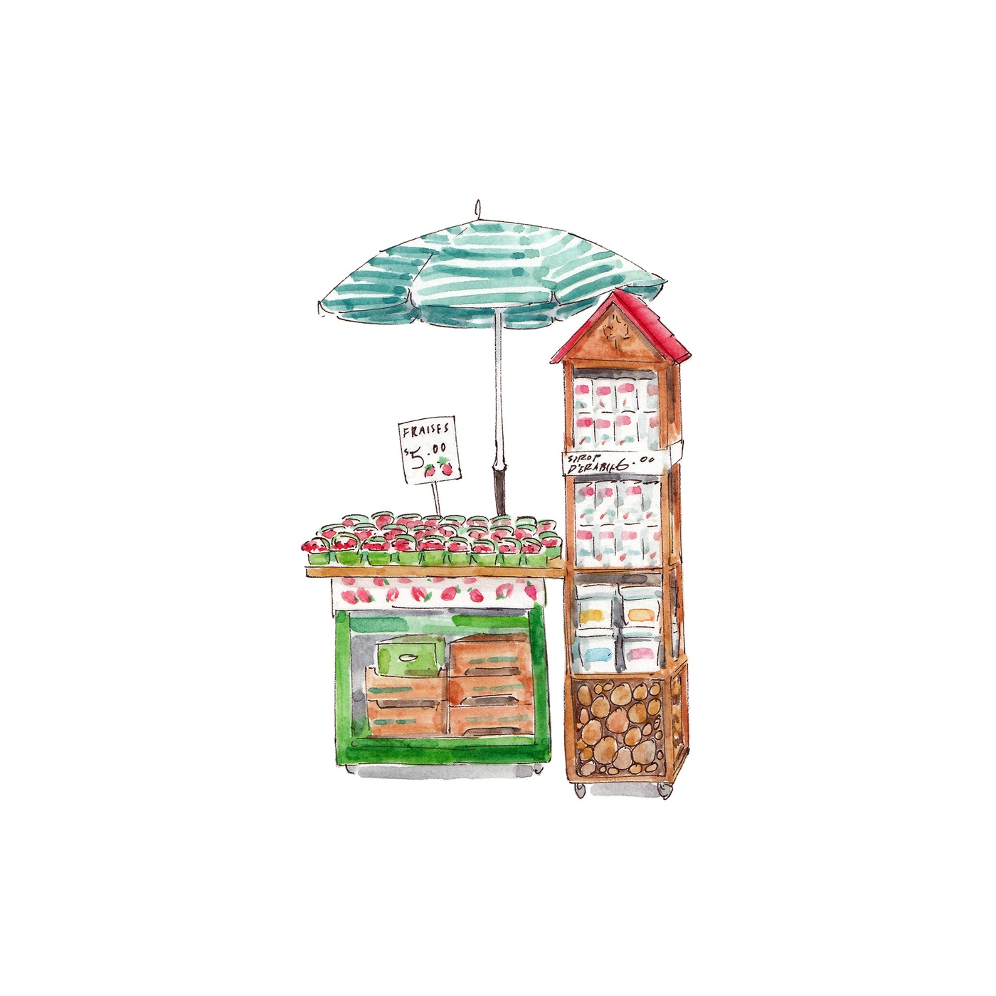 Emma Jacobs - Illustration Alimentaire