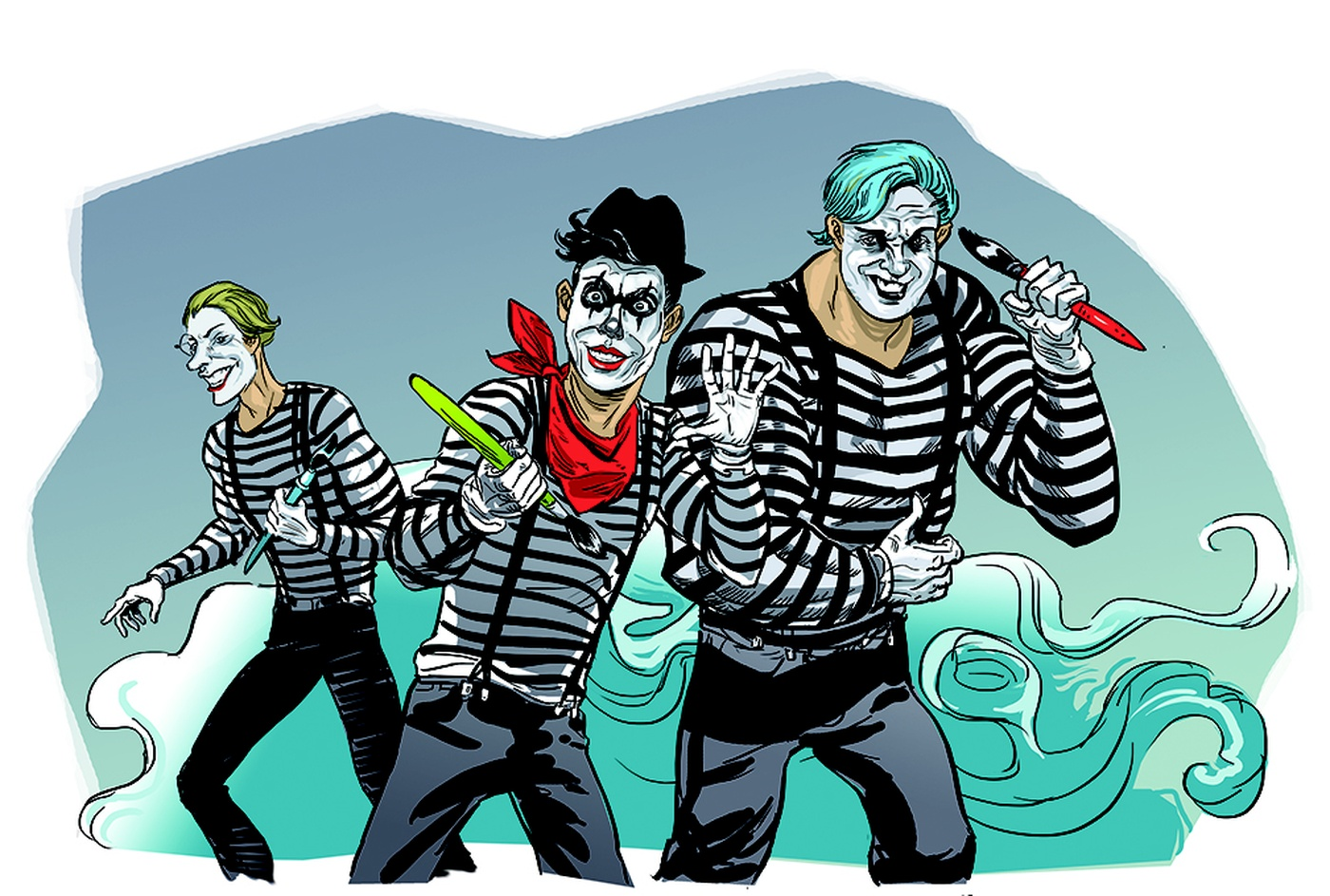 Simon Dupuis - Mimes-final illustration