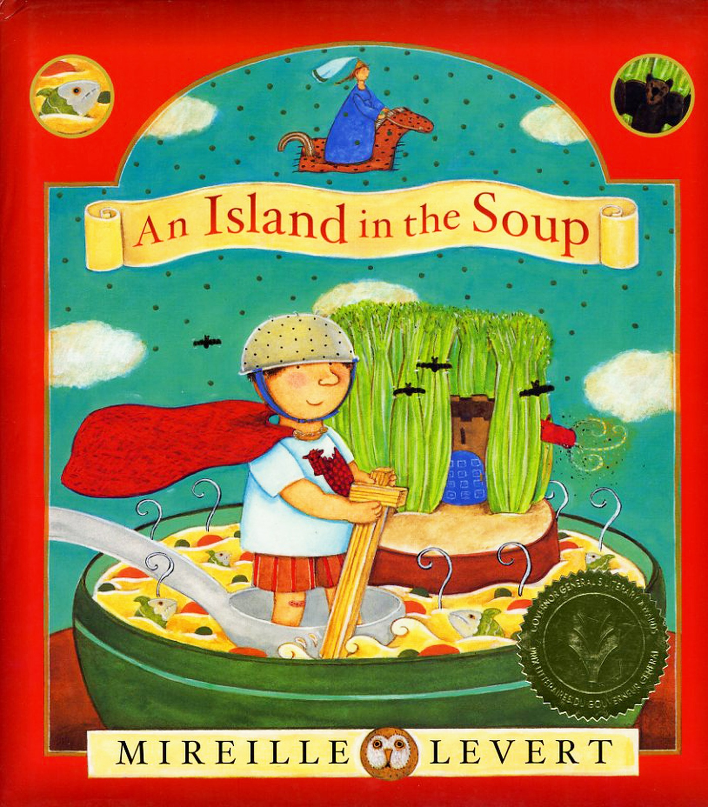 Mireille Levert - An Island in the Soup