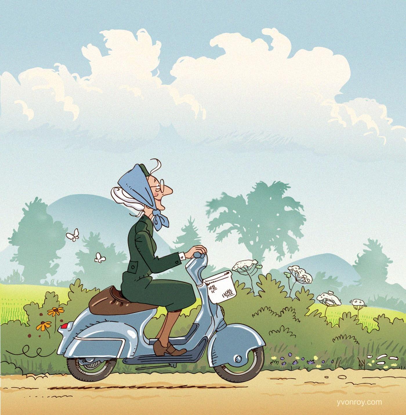Illustration Quebec Yvonroy Conte Pour Enfants